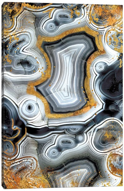 Geode Onyx Canvas Art Print