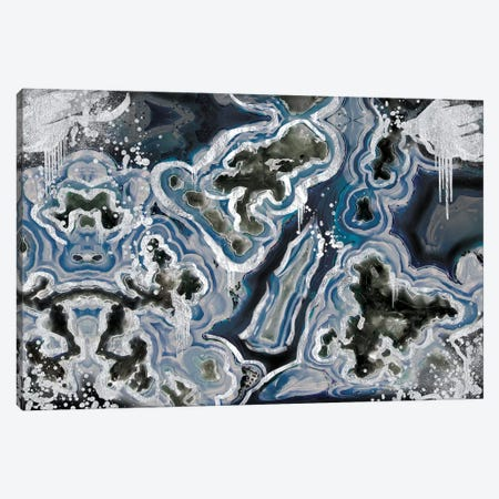 Royal Sterling Geode Canvas Print #GEO7} by 5by5collective Canvas Print