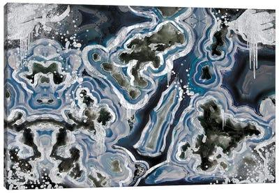 Royal Sterling Geode Canvas Art Print