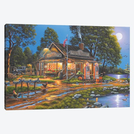 Remember When Canvas Print #GEP136} by Geno Peoples Canvas Print