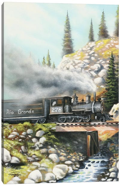 Rio Grande Canvas Art Print