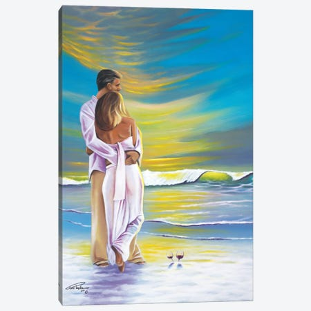 Romantic Moment Canvas Print #GEP139} by Geno Peoples Canvas Wall Art