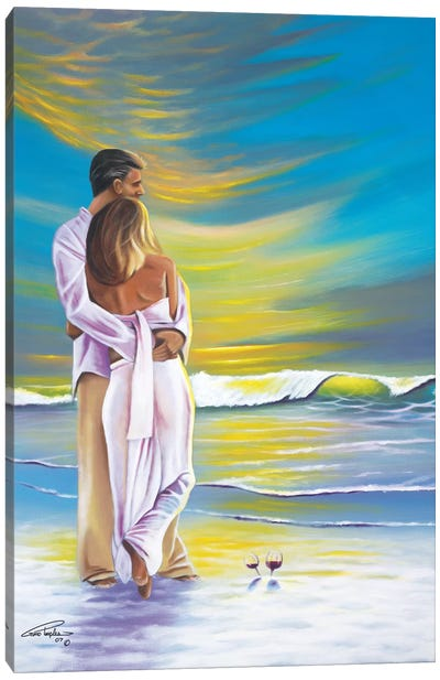 Romantic Moment Canvas Art Print