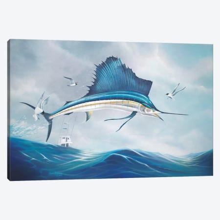 Back Breaker Canvas Print #GEP14} by Geno Peoples Art Print