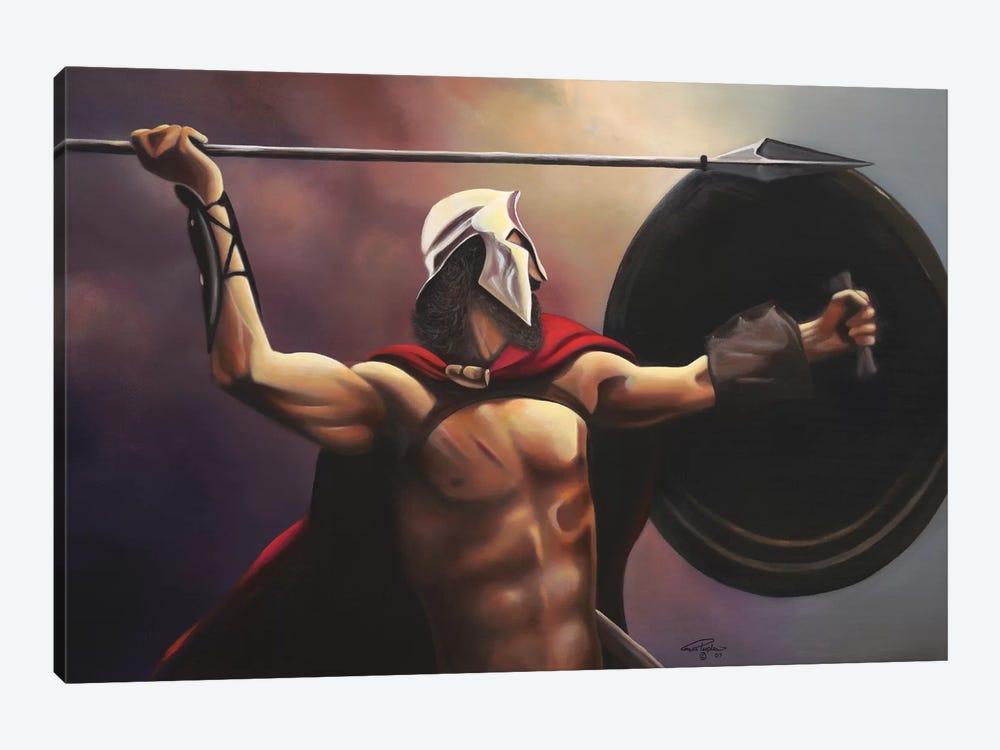 Spartan Warrior by Geno Peoples 1-piece Canvas Print