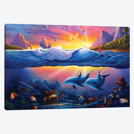 Sunken Treasure Canvas Print #GEP162} by Geno Peoples Canvas Print