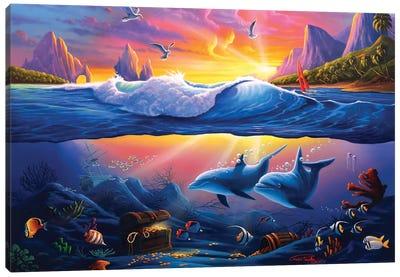 Sunken Treasure Canvas Art Print