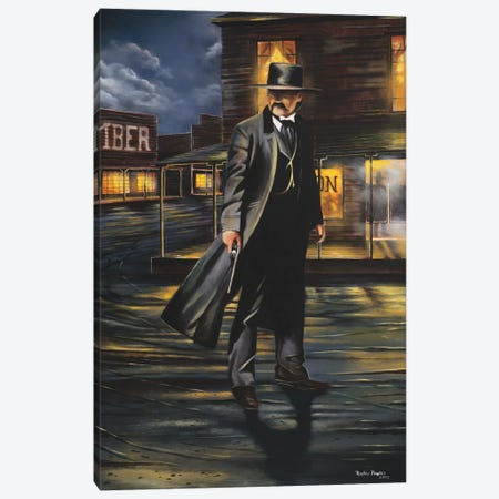 Tombstone Canvas Print #GEP172} by Geno Peoples Canvas Artwork