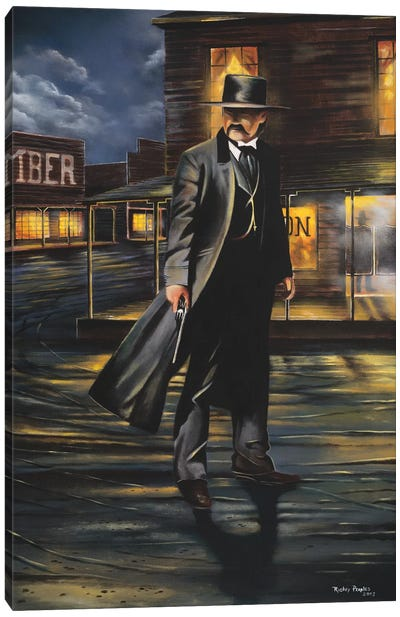 Tombstone Canvas Art Print