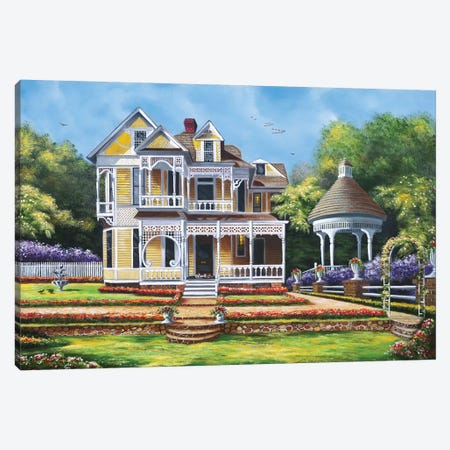 Touch Of Class Canvas Print #GEP173} by Geno Peoples Canvas Wall Art