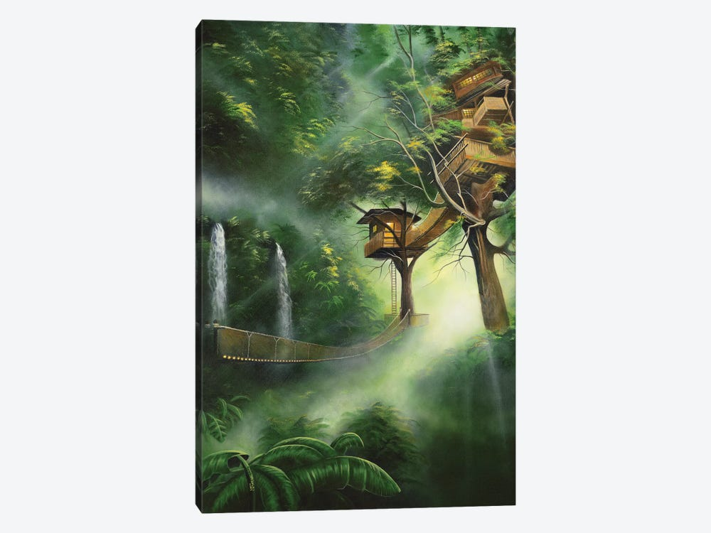 Treehouse by Geno Peoples 1-piece Art Print