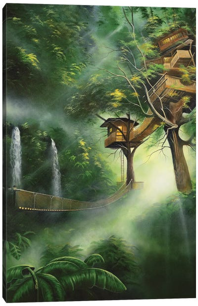 Treehouse Canvas Art Print