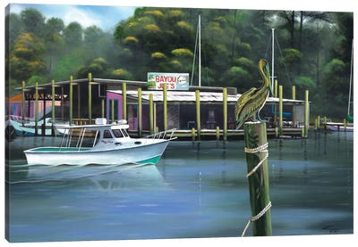 Bayou Joe's Canvas Art Print