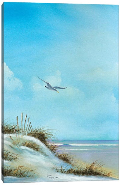 Beach I Canvas Art Print