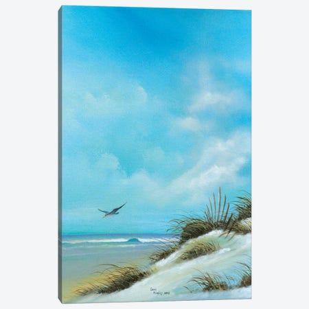 Beach II Canvas Print #GEP20} by Geno Peoples Art Print