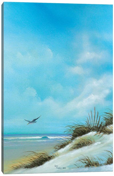 Beach II Canvas Art Print