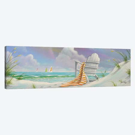 Beach IV Canvas Print #GEP22} by Geno Peoples Canvas Print