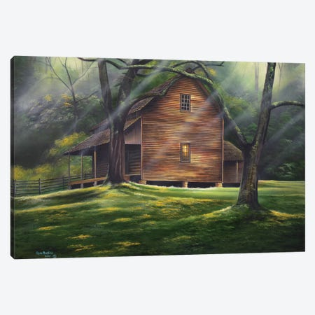 Carolina Country Canvas Print #GEP37} by Geno Peoples Art Print