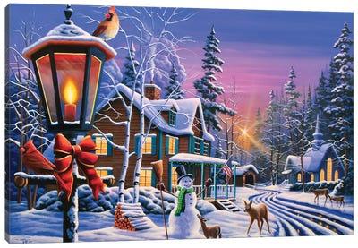 Christmas Curiosity Canvas Art Print