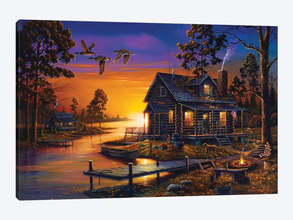 Cozy Retreat by Geno Peoples 1-piece Canvas Print