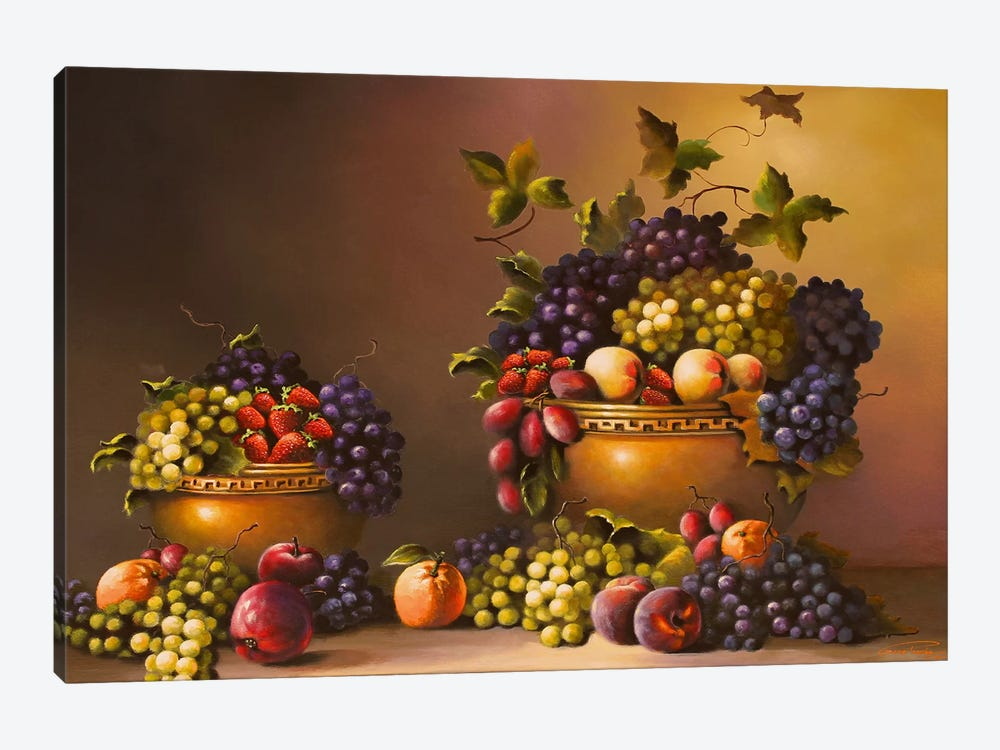 Fresh From The Garden by Geno Peoples 1-piece Art Print