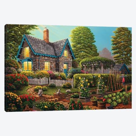 Garden Escape Canvas Print #GEP71} by Geno Peoples Canvas Artwork