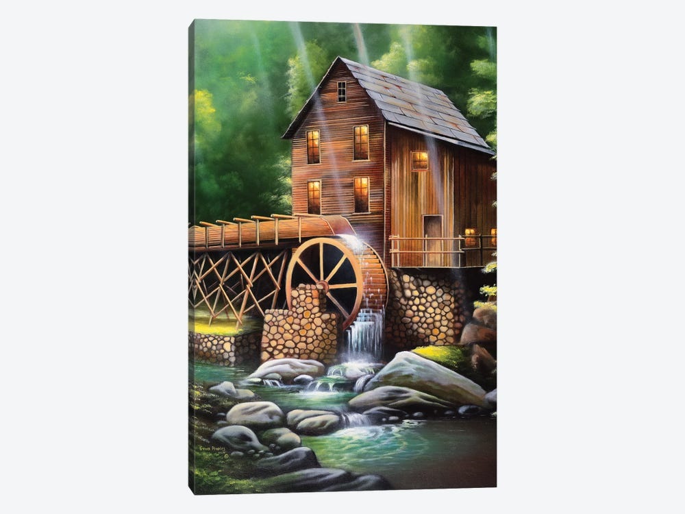 Gristmill by Geno Peoples 1-piece Canvas Art Print