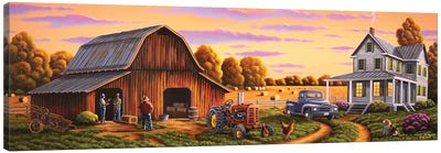 Heartland Canvas Art Print