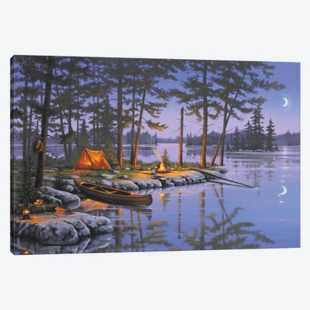 Honey Hole Canvas Print #GEP87} by Geno Peoples Canvas Wall Art