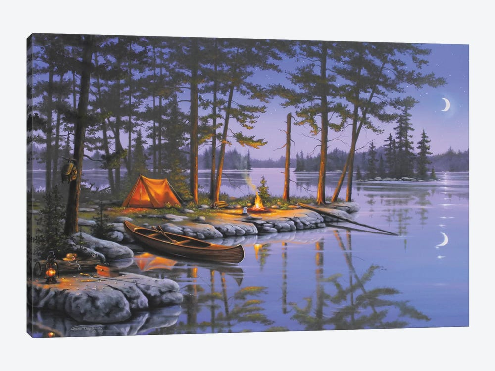 Honey Hole by Geno Peoples 1-piece Art Print