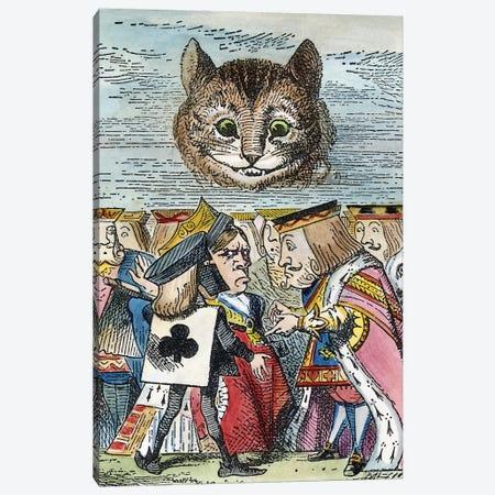 Cheshire Cat, 1865 Canvas Print #GER100} by John Tenniel Canvas Artwork