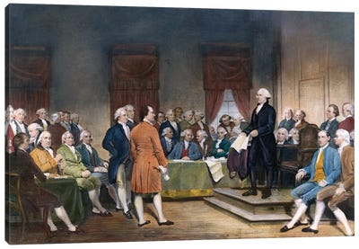 Constitutional Convention, 1787 Canvas Art Print
