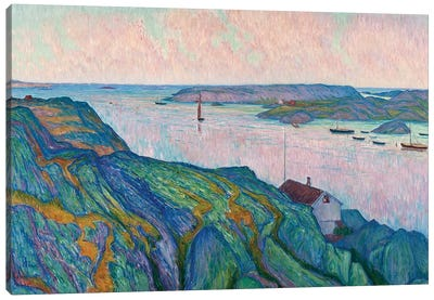 Nordstrom: Kyrkesund, 1911 Canvas Art Print