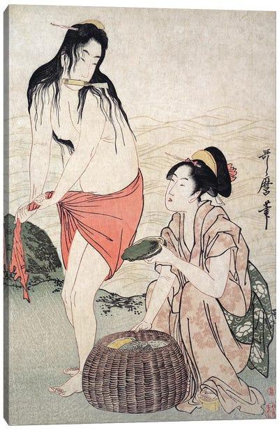 Japan: Abalone Divers Canvas Art Print