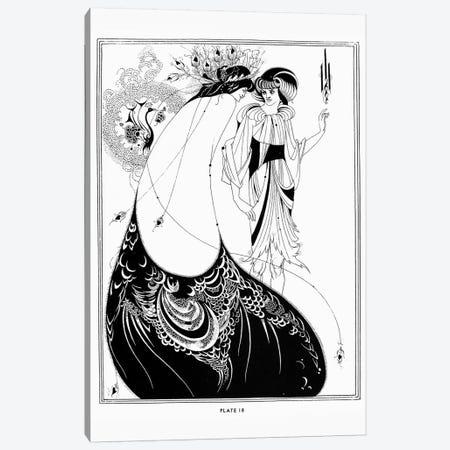 Wilde: Salome Canvas Print #GER10} by Aubrey Beardsley Canvas Art