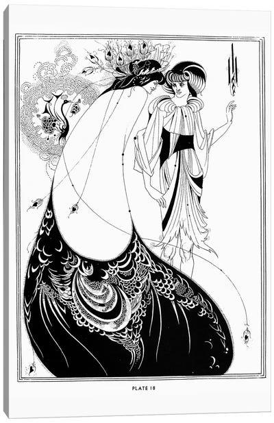 Wilde: Salome Canvas Art Print