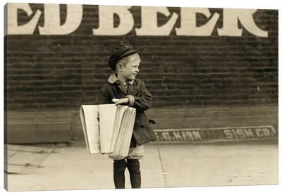 St. Louis: Newsboy Canvas Art Print