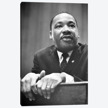 Martin Luther King, Jr Canvas Print #GER119} by Marion Trikosko Canvas Art Print
