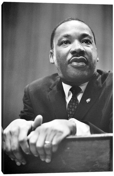 Martin Luther King, Jr Canvas Art Print