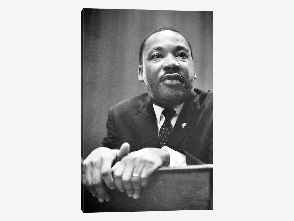 Martin Luther King, Jr by Marion Trikosko 1-piece Canvas Print
