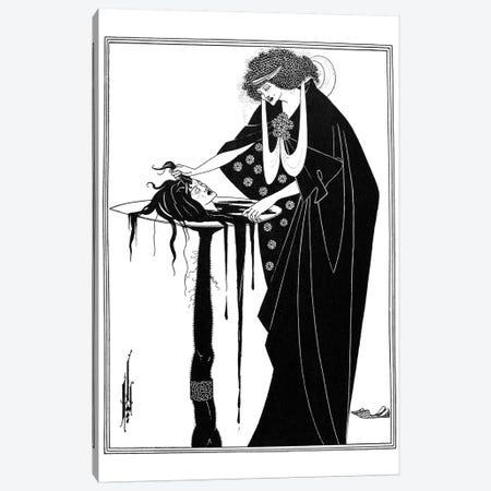 Wilde: Salome Canvas Print #GER11} by Aubrey Beardsley Canvas Wall Art