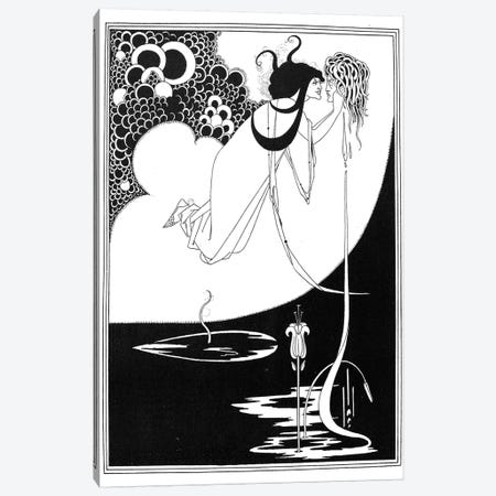 Wilde: Salome Canvas Print #GER12} by Aubrey Beardsley Canvas Wall Art