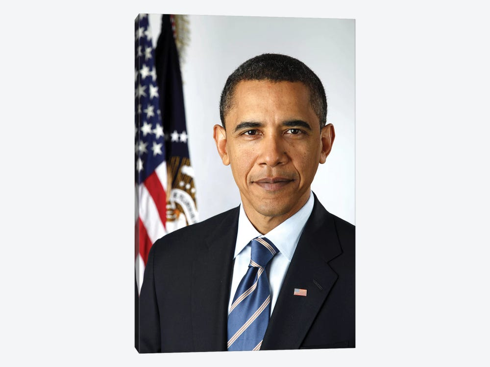 Barack Obama (1961- ) by Pete Souza 1-piece Canvas Artwork