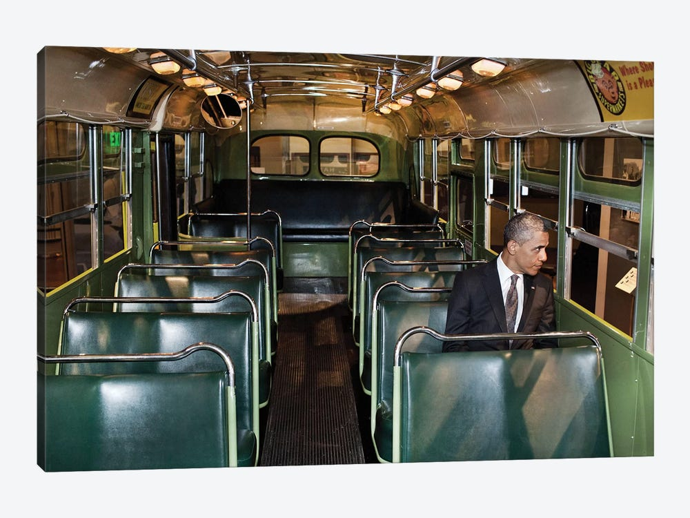 Barack Obama (1961- ) by Pete Souza 1-piece Canvas Print