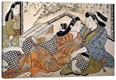 Japan: Lovers Canvas Art Print