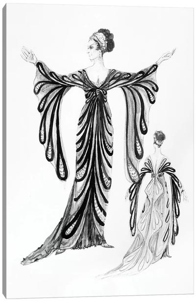 Operetta Costume Canvas Art Print