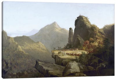 Cole: Last Of The Mohicans Canvas Art Print