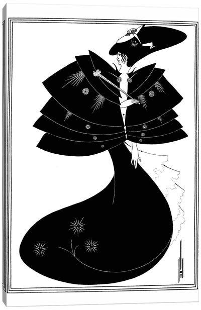 Beardsley: Salome Canvas Art Print