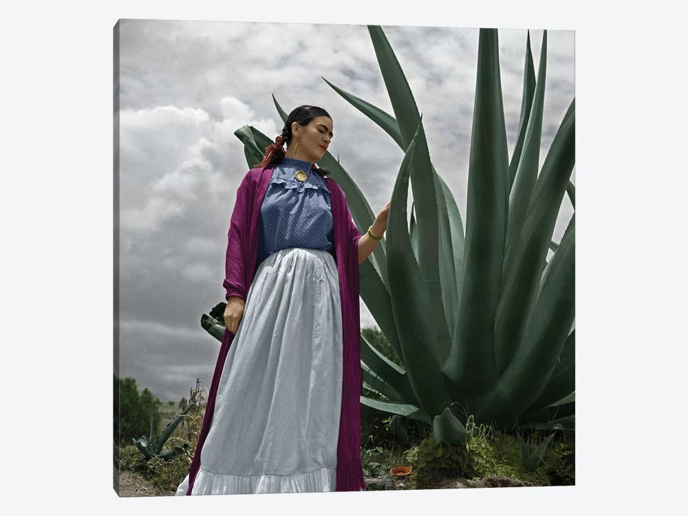 Frida Kahlo (1907-1954) by Toni Frissell 1-piece Canvas Wall Art