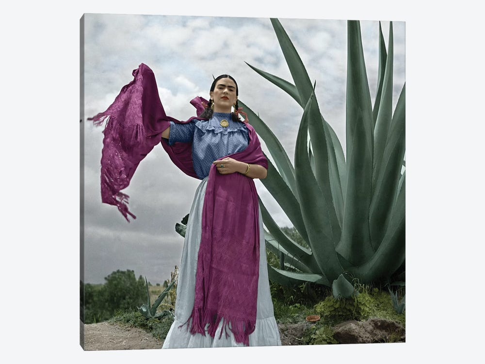Frida Kahlo (1907-1954) by Toni Frissell 1-piece Canvas Art Print